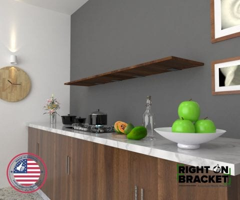 Hidden Shelf Brackets
